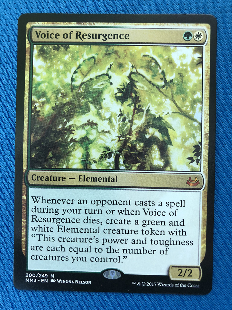 Voice Of Resurgence MM3 Hologram Magician ProxyKing 8.0 VIP The Proxy Cards To Gathering Every Single Mg Card.