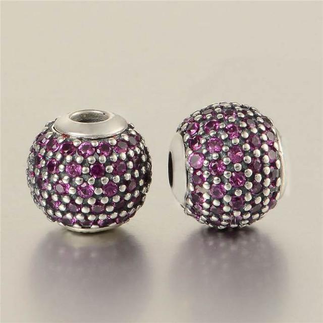 Essencial cuidar encantos diy serve para pandora pulseiras 100% grânulos de prata esterlina jóias finas para mulheres 13f029a