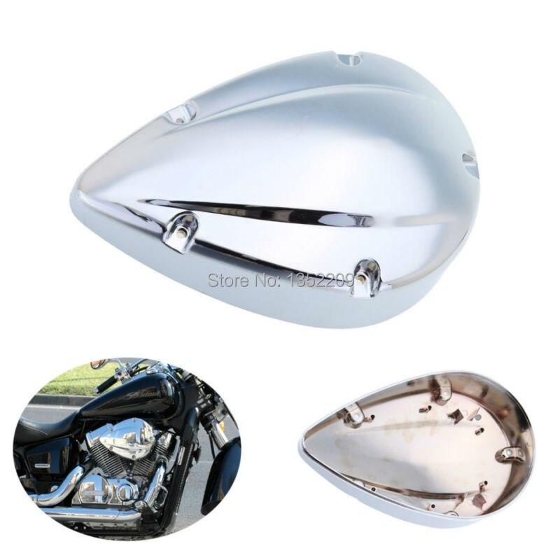 Motorcycle Chrome Air Filter Cover For Honda Shadow VT Aero 750 VT750 2004-2012 Free Shipping