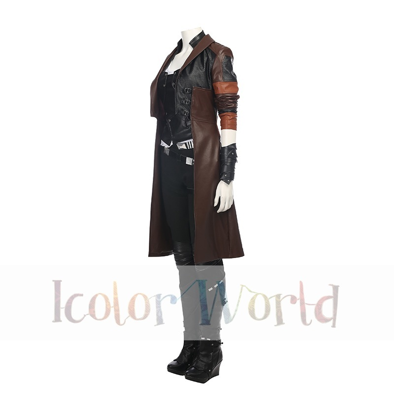 Guardians of the Galaxy Vol. 2 Gamora Cosplay Costume02