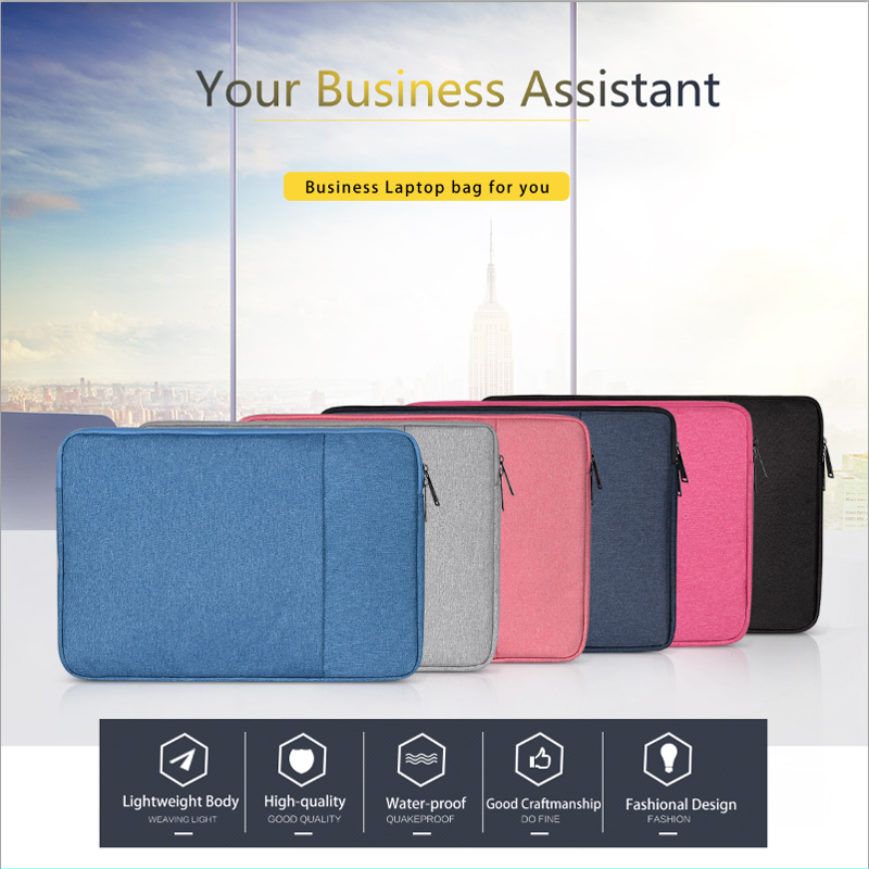 Laptop Bag case For Macbook Air Pro Retina 11 12 13 14 15 15 6 inch Laptop sleeve Tablet Case Cover for HP Dell notebook case in Laptop Bags Cases from Computer Office