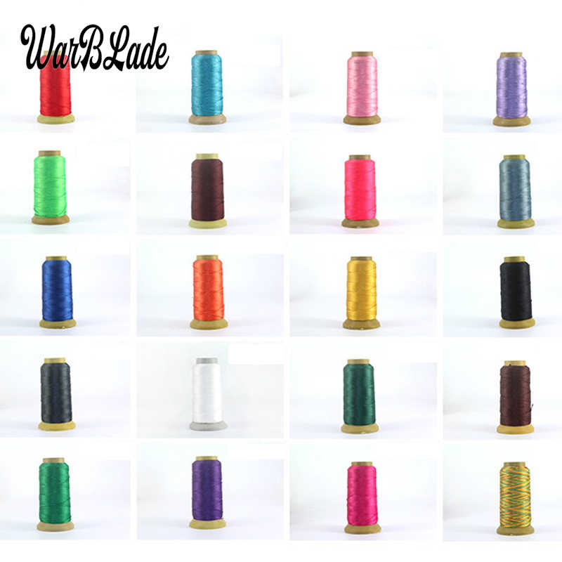 WarBLade 0.2mm 0.3mm 0.4mm 0.6mm 0.8mm 1mm Nylon Cord Polyamide Cord Sewing Thread Rope Silk Beading String For Jewelry Making