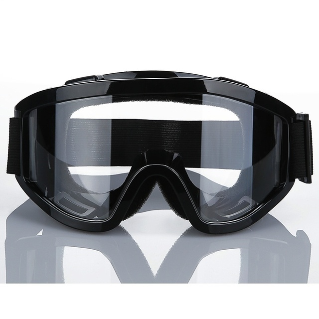 Half Face Gas Mask With Anti-fog Glasses N95 Chemical Dust Mask Filter Breathing Respirators for Painting Spray Welding 4