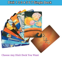 High Quality Dixit 1 2 3 4 5 6 7 Single Deck Cards Game Original Back
