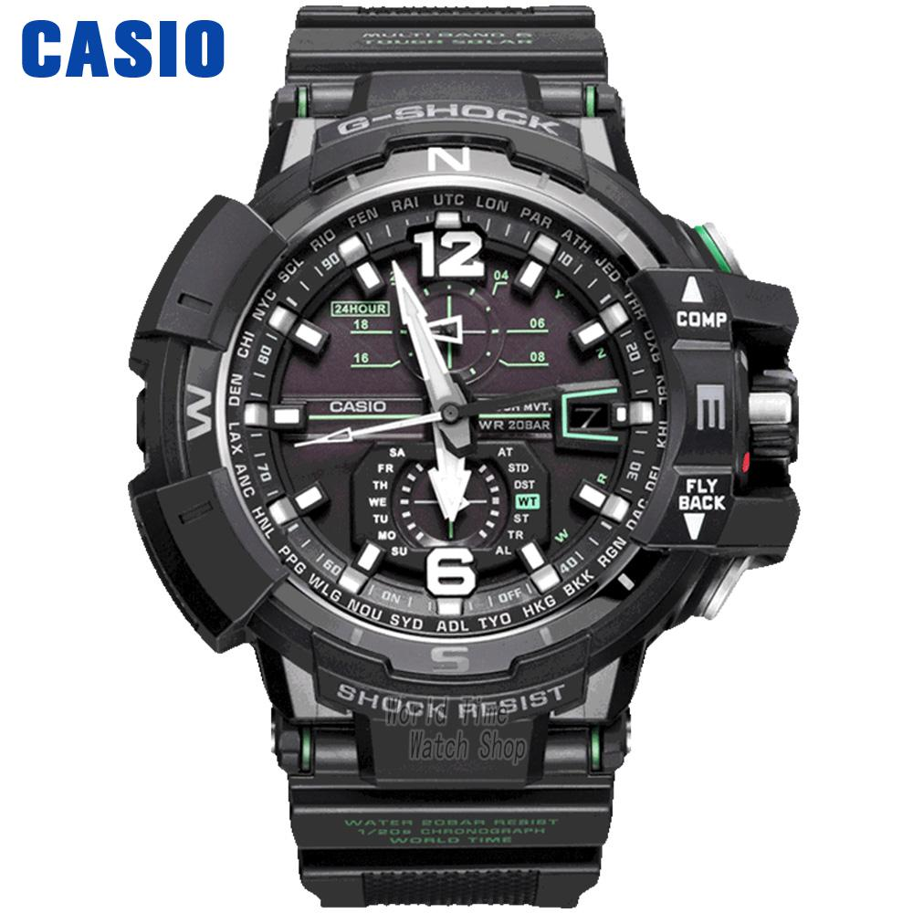 Casio Watch Triple perception of fashionable solar sports men's watches GWA-1100FC-1A GWA-1100-1A3 knowledge attitude and perception of hepatitis b