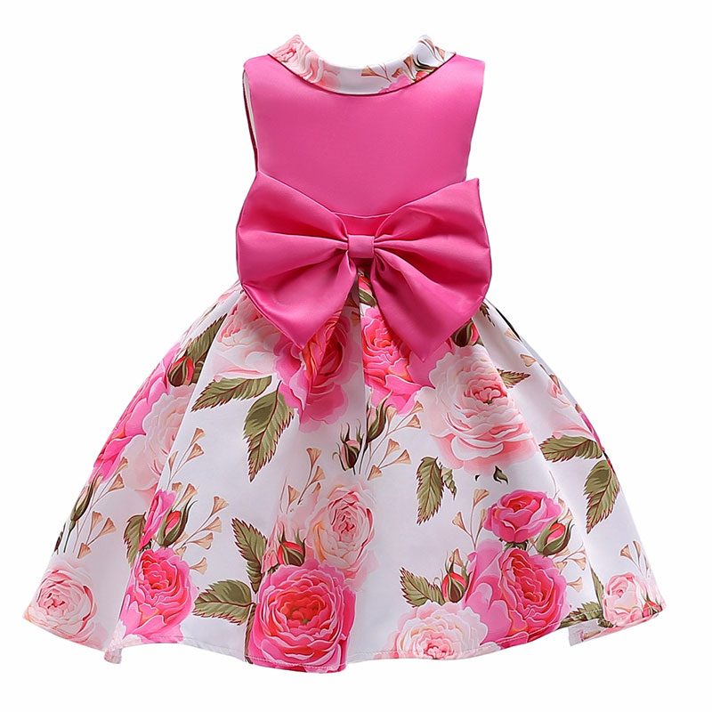 New Big bow Beading stripes tutu princess dress girls Baby girl reception formal dresses Girl dress girl party Christmas clothes puma puma green