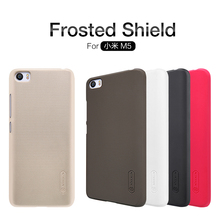 Original NILLKIN Frosted shield case For Xiaomi Mi5 Case+NILLKIN Screen protector for Xiaomi Mi 5 case