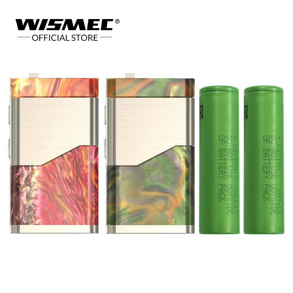 [Official Store] Original Wismec LUXOTIC NC Box MOD with Dual 18650 battery Electronic cigarette Mod Box design by JayBo