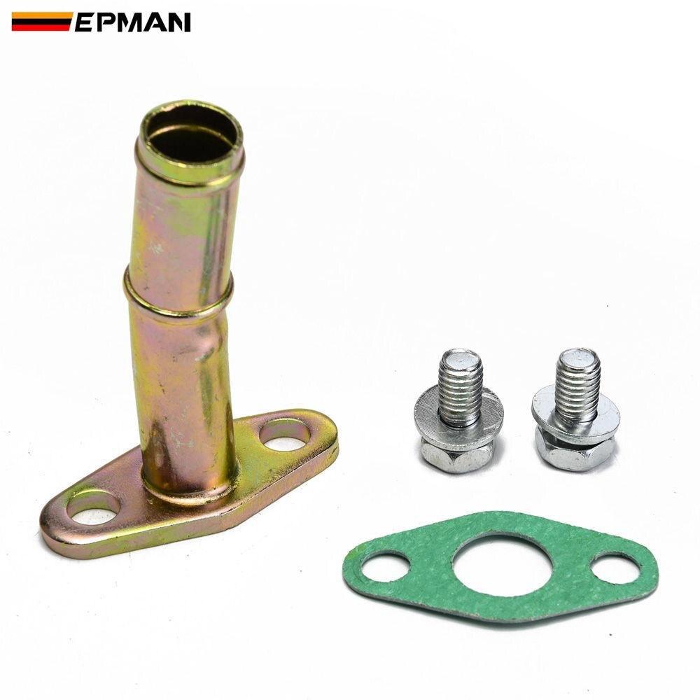 Rev9 Turbo Oil Feed Line Oil Drain Line Kit T25 T28 oil /& water GT25 GT28 GT30