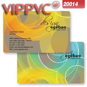 Pvc white plastic  card  a2014 card template-85.5X54mm -one-faced printing 0.38mm thickness