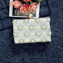 Original women's clutch bag pearl evening bag banquet bride bag dress bag 2018 new factory direct