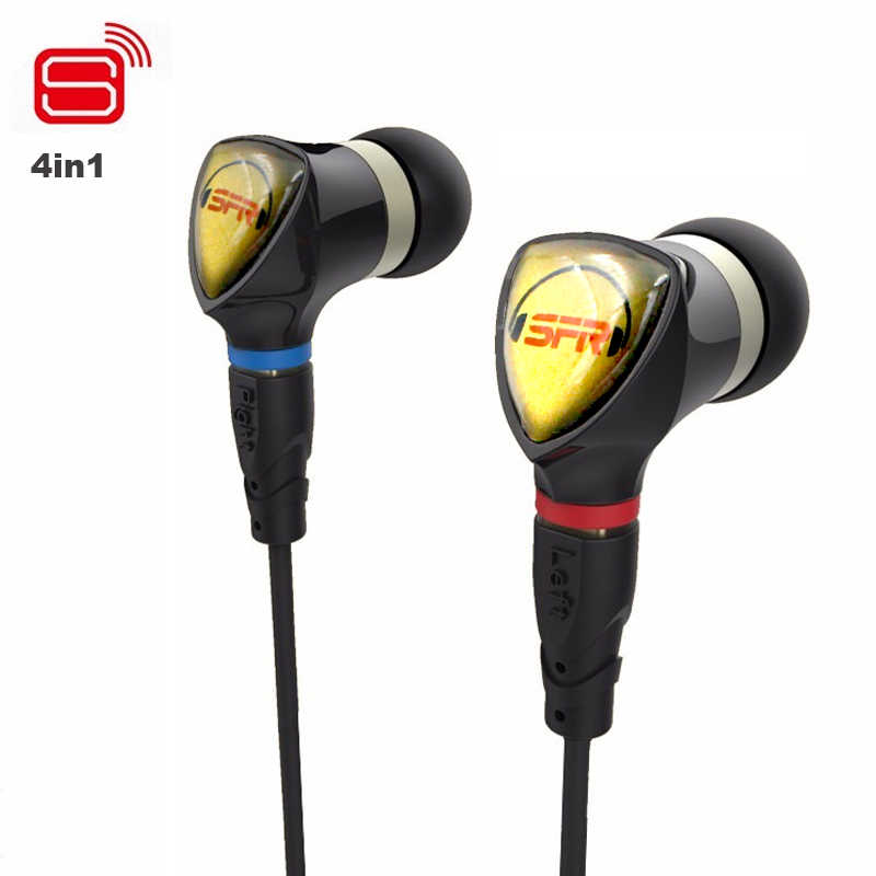 PZ SENFER 4in1 heandphone In Ear Earphone With MMCX Interface HIFI Earbuds Headset ie80 ie8 ie800 APTX bluetooth upgrade cable 1