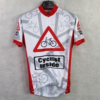 Pastillas Anti Sudor | Nuevo Ciclista Dentro De Alien Ropa Deportiva Para Hombre Ciclismo Jersey Ciclismo Ropa Bicicleta Camisa Tamaño 2XS A 5XL