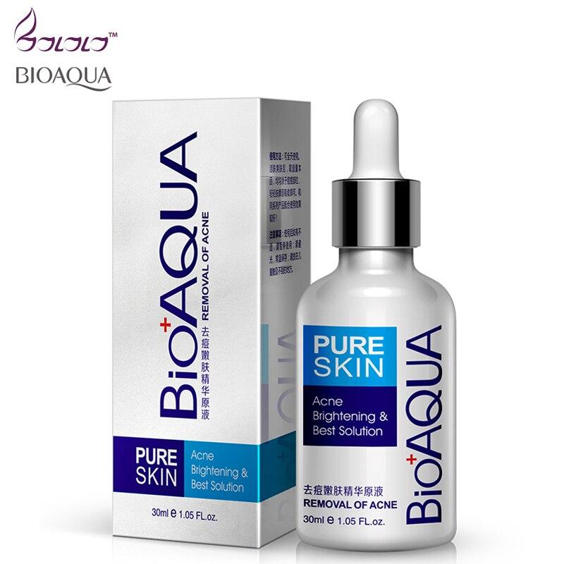 Face Skin Care Essence Liquid Acne Removal Blackhead Acne Brightening Moisturizing Oil-control Maquiagem Serum Pimple Blemish
