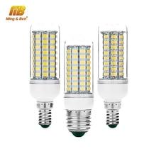 Light Candle Led-Bulb Smd5730-Lamp Lampada Leds E27 Chandelier E14 220V 56 72 30-36