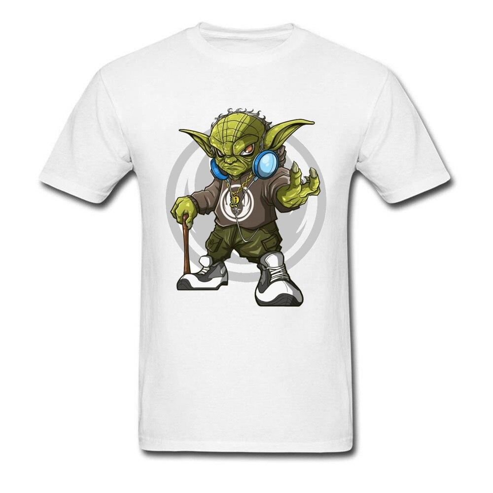 Star Wars T Shirt White 90s Cartoon Marvel Movie T-Shirt Men Yoda Jedi Vader AT-AT Tshirt Board Game T Shirts For Student