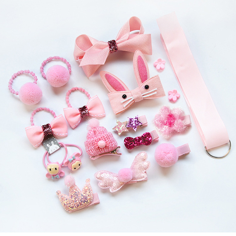 Sincere Eva2king Hair Accessories Toy 18pcs/set Clip Toys For Girls Hairband For Children Hair Bands Maquiagem Infantil Das Princesas Toys & Hobbies Cartoon Hats