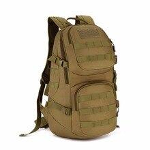 Outdoors 35L Men Tactics Nylon Double Shoulder Bag Outdoors Backpack Waterproof Mountaineering Travel bag Man Riding
