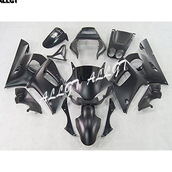 Matte Black ABS Injection Plastic Motorcycle Fairing Kits for 98 99 00 01 02 Yamaha YZF600 R6 1998 1999 2000 2001 2002