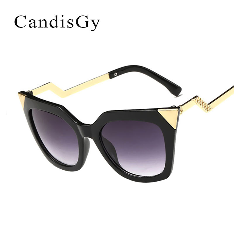 Classic Cat Eye Womens Sunglasses Vintage Retro Ladies Sun glasses Luxury  Brand Designer Oculos De Sol feminino Gafas c62bd1876e