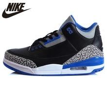 quality design c7c52 5a37a Nike Air Jordan 3 Retro AJ3 Sport männer Atmungsaktive Polsterung  Turnschuhe Sport Schuhe, Basketball Schuhe