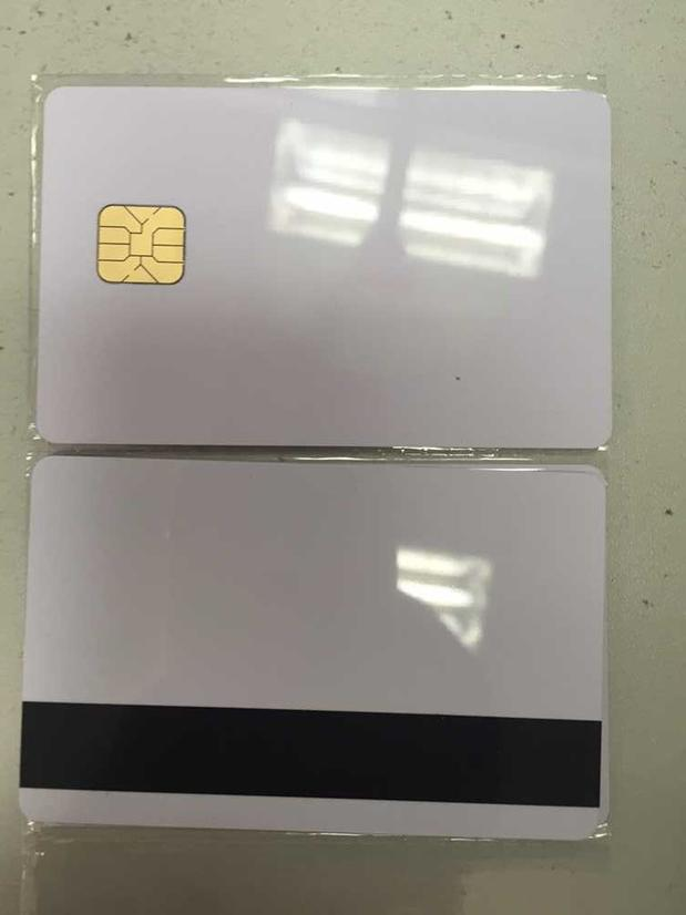 10 pcs/lot White Contact Sle4428 Chip Smart IC Blank PVC Card with 2750 OE Hi-Co Magnetic Stripe 200pcs lot printable pvc contact smart ic blank card with sle4428 chip 1k memory for e pson c anon inkjet printer page 2 page 5 page 4