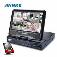 Annke 10.1 » жк-4ch 720 P 960 H HD DVR hvr-рекордер сети видеонаблюдения видео 1 ТБ