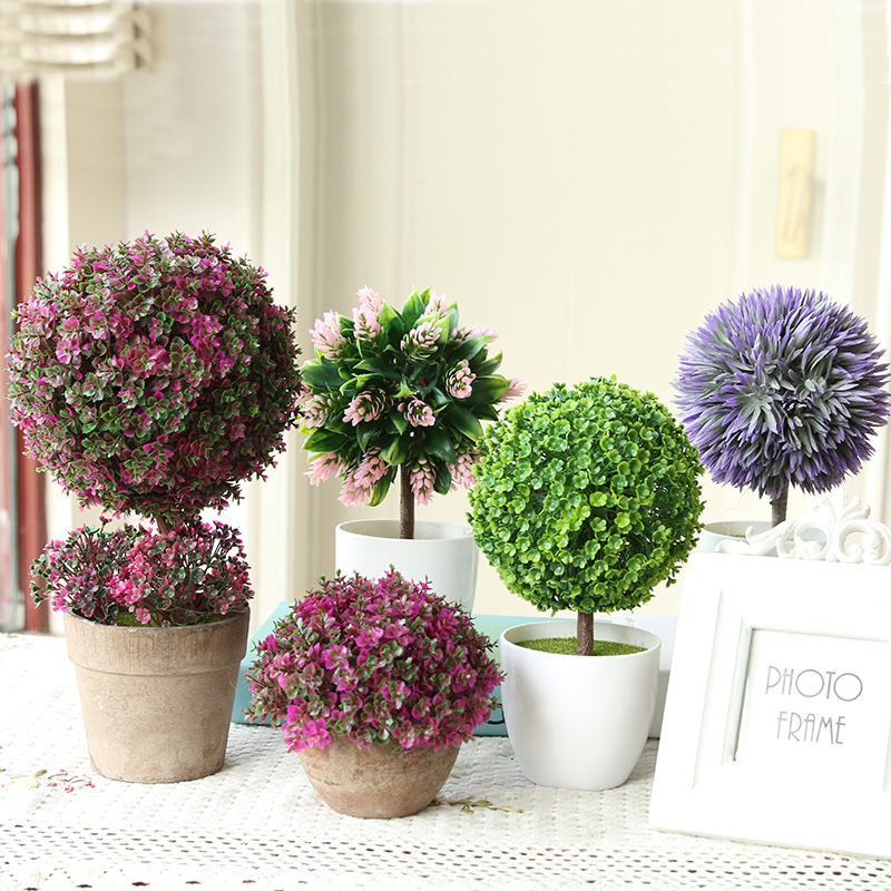 Artificial Flowers Bonsai Wedding Decoration Simulation Of Small Rhaliexpress: Artificial Flowers For Home Decor Indoor At Home Improvement Advice