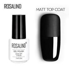 Verniz uv da manicure da cor do gel do diodo emissor de luz para o verniz do gel da arte do prego rosalind 7ml