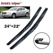 "Erick do Limpador Dianteiro Sedan Híbrido Wiper Blades Para Dodge Avenger 2007-2014 Windshield Windscreen 24 Da Janela Da Frente"" + 22""(China)"