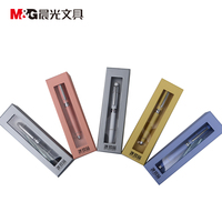 Gel Ink Pen 0 5 Tip M G AGPW1901 Decorated With Rhinestone High Grade RollerBall Pen