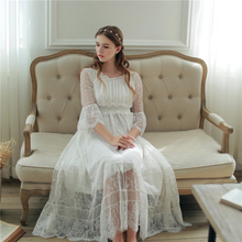 Summer Dresses Women's Pajamas Cotton Princess Nightgown pregnancy Home Cltohing. Want high quality