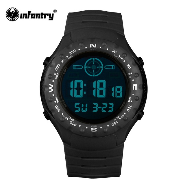 INFANTRY Mens Watches Military Army Digital Watches for Men 2017 Luminous 30M Waterproof  Sports Casual Watch Clock Reloj