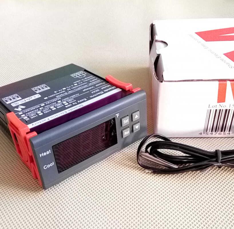 F 度華氏温度コントローラ 110vac サーモスタットセンサー