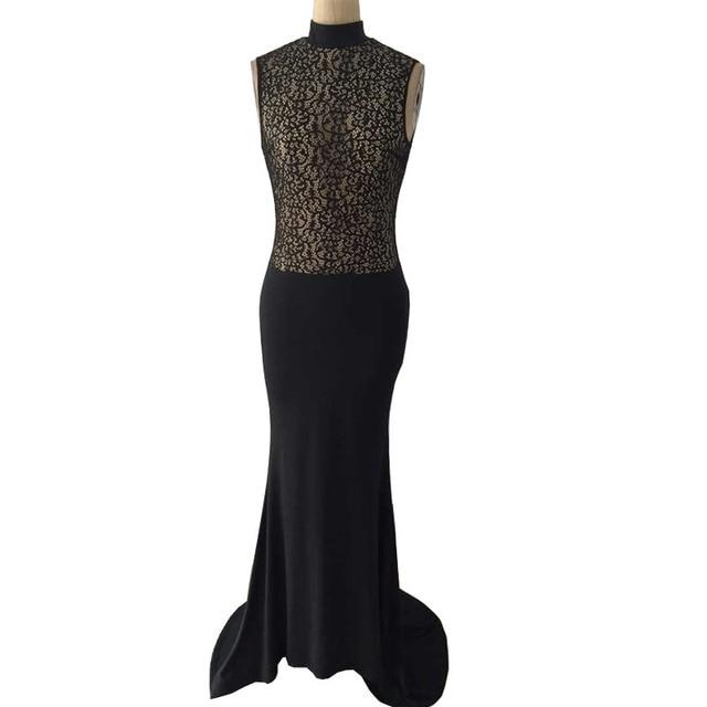 Winter formal lange kleider 2017 robe de soiree elegante rollkragen ...