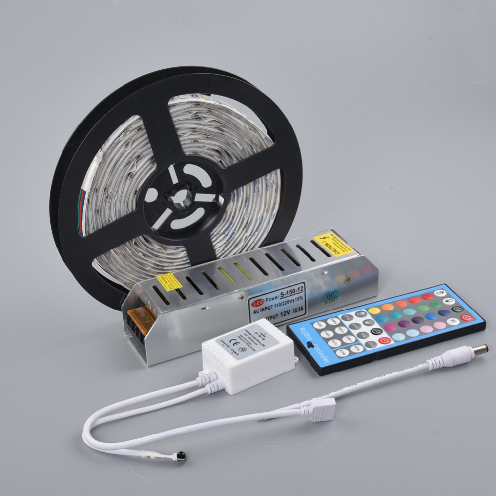 rgbw led strip 5050 dc12v flexible led light tape rgb white warm white 4 in 1 chip 60leds m 5m. Black Bedroom Furniture Sets. Home Design Ideas