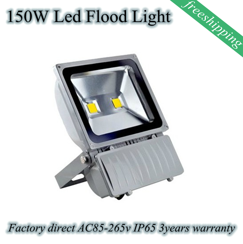 High Brightness 150W  LED Flood Light High Power Car parks light   AC 85-265V IP65 loading bays light 3 Years Warranty 90w led driver dc40v 2 7a high power led driver for flood light street light ip65 constant current drive power supply