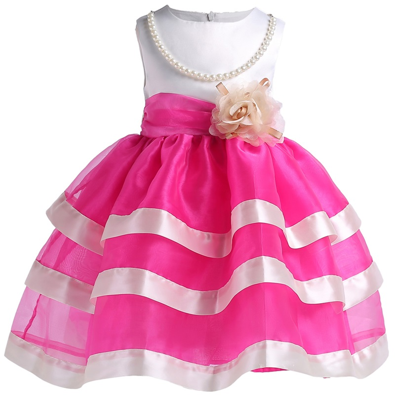New Summer Baby Girl Rainbow tutu Princess Toddler Girl Clothing Child Costume Infant Party Pageant dresses for girls 3-12yrs цепочка page 2