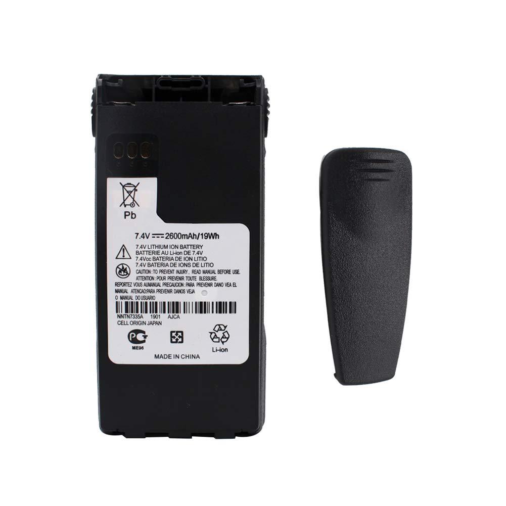 NNTN7335 NNTN9858C 2600mAh Li-ion Battery For Motorola Radio MT1500 PR1500 XTS1500 XTS2500 NTN9815 NTN9816 NTN9857 NNTN7554