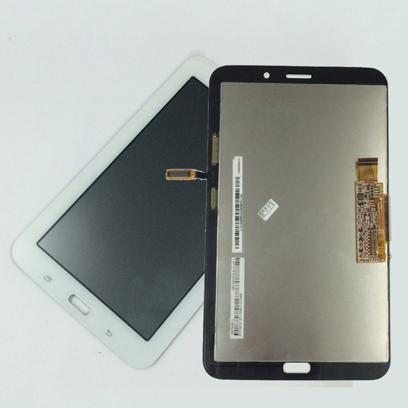 White For Samsung Galaxy Tab 3 Lite T116 SM-T116 Touch Screen Digitizer Sensor Glass + LCD Display Panel Monitor Assembly