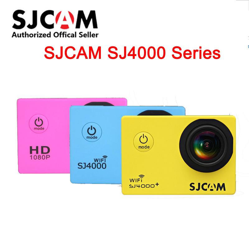 Prix pour D'origine SJCAM SJ4000 Série SJ4000 & SJ4000 WiFi Action Caméra Étanche Caméra 1080 P Sport DV
