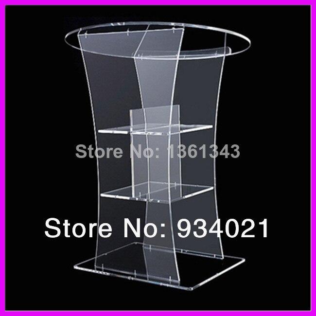 Hot SellingCustom Acrylic Pulpit/Plexiglass Lectern Platform/Acrylic Podium