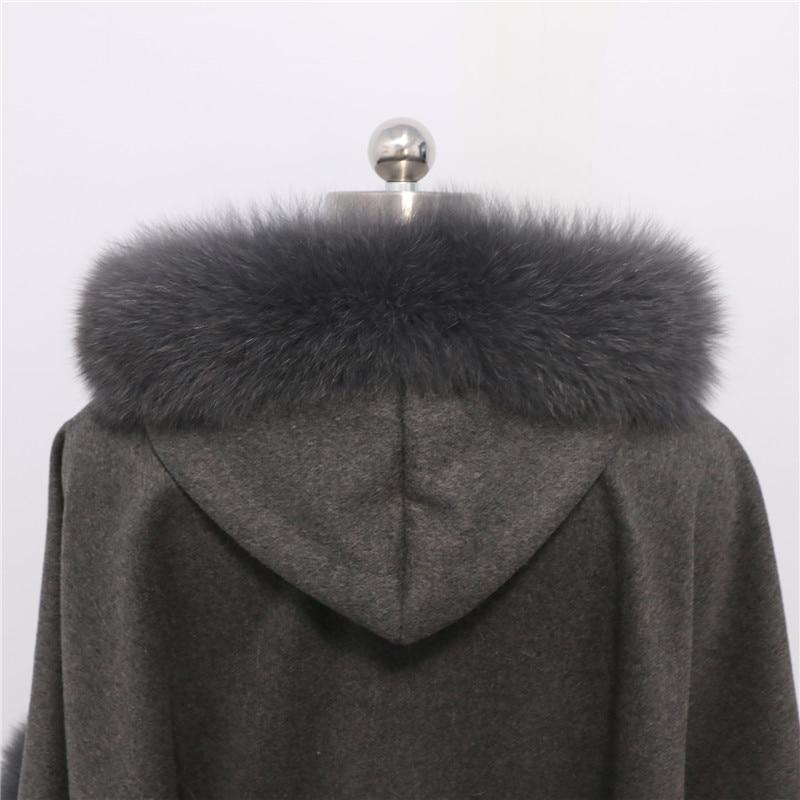 Brezplačna dostava Nova moda plemenita lisica krzneni plašč - Oblačilni dodatki - Fotografija 4