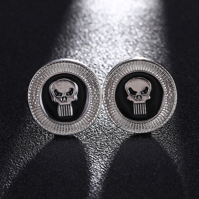 Alternative Skull Style Cufflinks