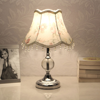 E27 Dimmable LED Table Lamps for Bedroom Crystal Decoration Bedside Lamp Table Lanterns Girl Bedroom Decoration Indoor Lighting