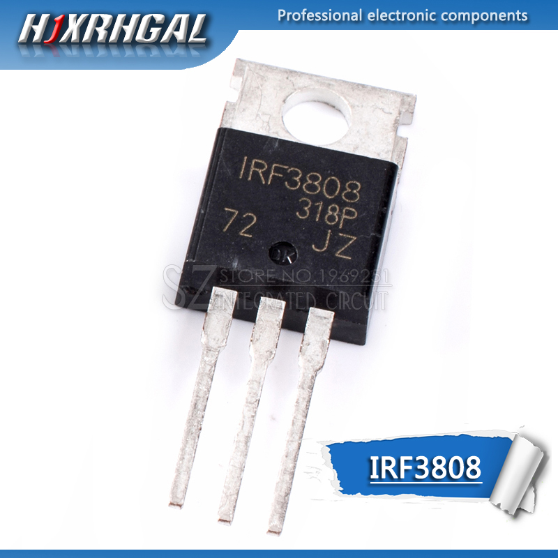 10PCS IRF3808PBF TO-220 IRF3808 TO220 New MOS FET Transistor HJXRHGAL