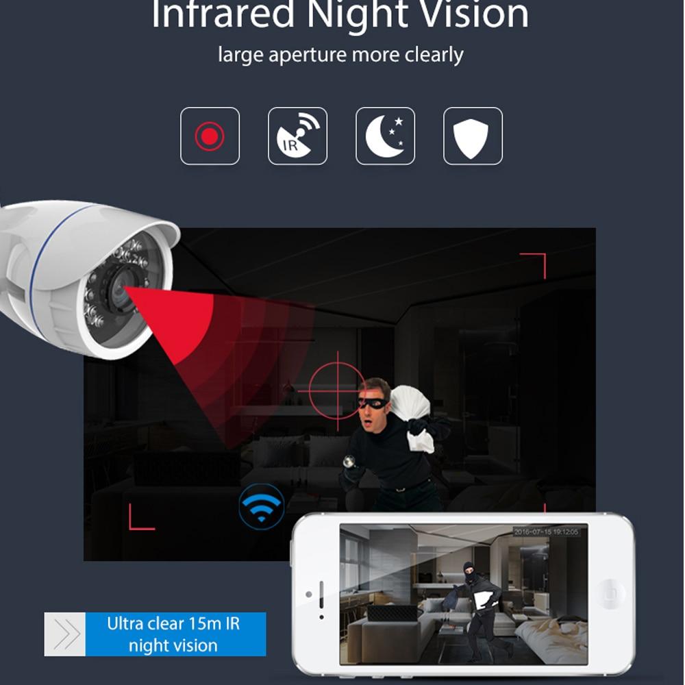 Image 5 - НЕО COOLCAM уличная Водонепроницаемая WiFi IP камера беспроводная HD 720P Сеть ночного видения CCTV камера работает с Alexa Echo Show-in Камеры видеонаблюдения from Безопасность и защита