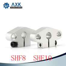 Hot sale 1pc SHF10 10mm linear rail shaft support XYZ Table CNC Router