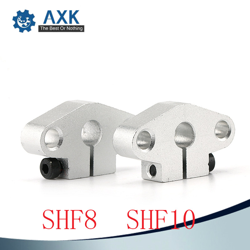2PCS SHF10 10mm Linear Rod Rail Shaft Support CNC Route