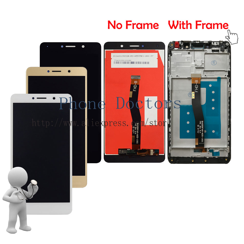 5.5 Full LCD Display + Touch Screen Digitizer Assembly + Frame Cover For Huawei Mate 9 Lite BLL-L23 ; New ; 100% Tested5.5 Full LCD Display + Touch Screen Digitizer Assembly + Frame Cover For Huawei Mate 9 Lite BLL-L23 ; New ; 100% Tested